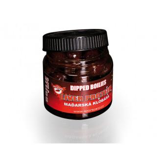 Sportcarp dipovaný boilies Dipped Boilies Liver Protein Hungarian Sausage 18 mm (maďarská klobása)|UGE3000101