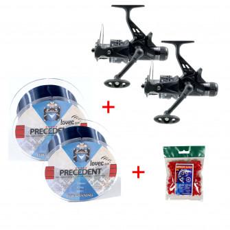 Mistrall set Navijáků Spider Carp 6000 1 + 1 za výhodnou cenu s dárky-MKM12160S
