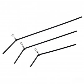 Giants fishing - Průjezd na tyčce zahnutý Anti Tangle 10cm, 3ks