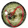SITTEC Vezírek 032 75cmx30cm černý/zelený