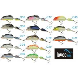 Wobler Trout 2-díl 5cm plovoucí barva 09