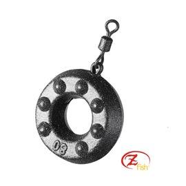 Zfish Zátěž Ring Lead-Gramáž-100g