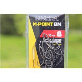 Háčky M-Point BN - č. 4 bez protihrotu
