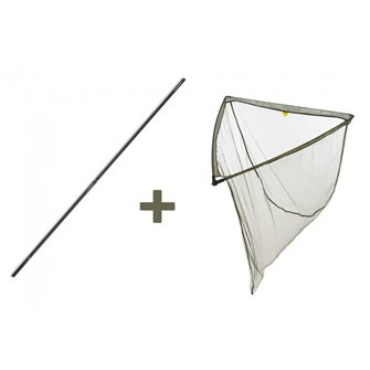 Podběrák LevelM 90 x 90 cm + tyč Professional Twin