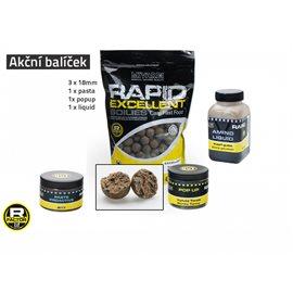 Akční balíček boilie a doplňků Rapid - Monster Crab