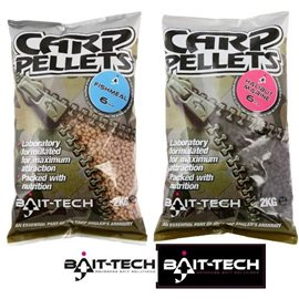 Pelety Hallibut Carp Feed Pellets 8mm, 2kg