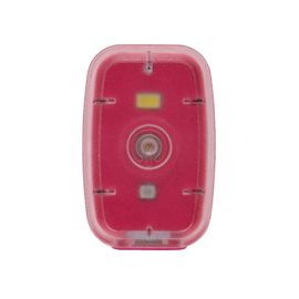 Světelný klip Clip Light dobíjecí růžový