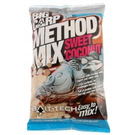 BaitTech Krmítková směs Big Carp Method Mix Coconut 2kg