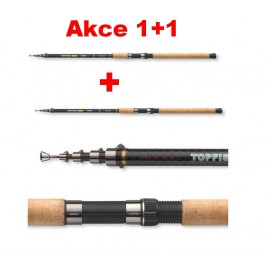 Prut CORMORAN Topfish Tele 80 Pike 3,0m/40-80g 1+1