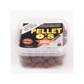 Pelety s jehlou+háčky+nekonečná zarážka - Blood Worm 8mm - 65g