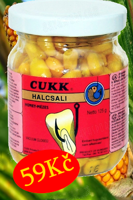 Nejoblíbenější nástraha Cuuk kukuřice